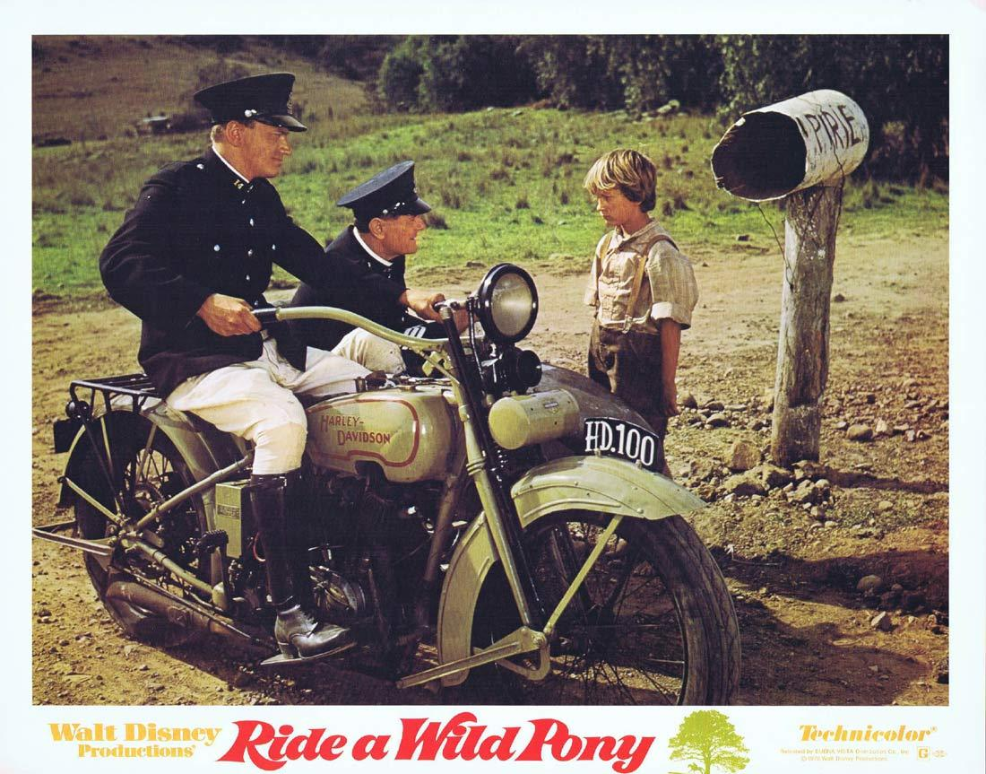 RIDE A WILD PONY Original Lobby Card 6 Michael Craig