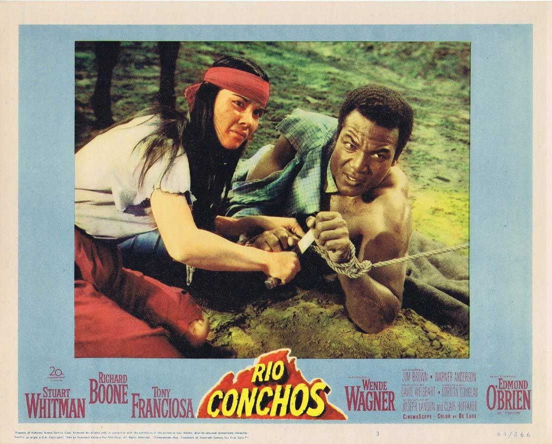 RIO CONCHOS Lobby Card 3 Richard Boone Stuart Whitman Tony Franciosa Edmond O'Brien