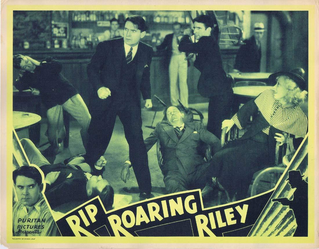 RIP ROARING RILEY Original Lobby Card 4 Lloyd Hughes Marion Burns Grant Withers
