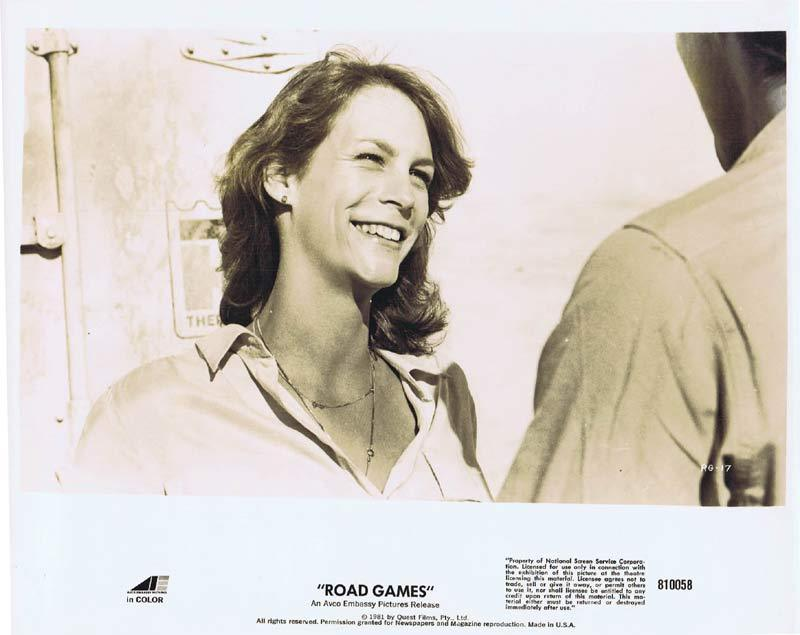 ROAD GAMES Original Movie Still 10 Jamie Lee Curtis Richard Franklin