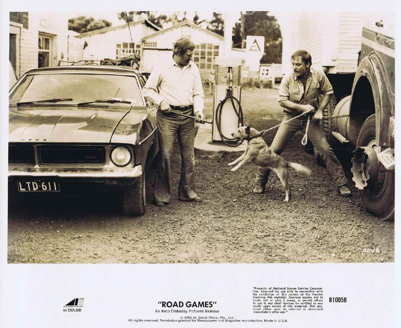 ROAD GAMES Original Movie Still 11 Jamie Lee Curtis Richard Franklin