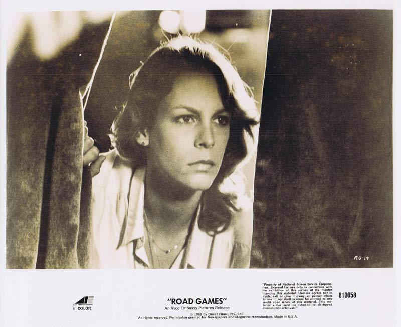 ROAD GAMES Original Movie Still 12 Jamie Lee Curtis Richard Franklin