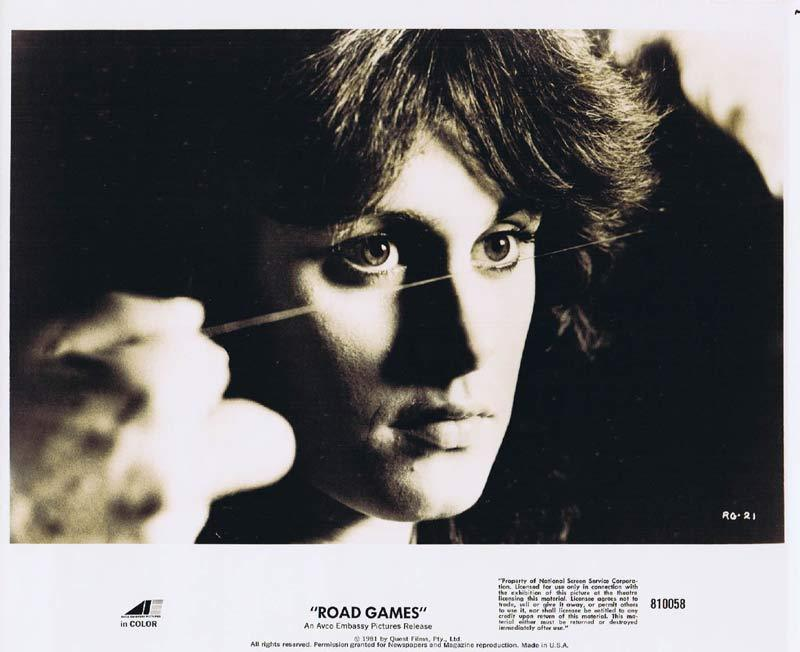 ROAD GAMES Original Movie Still 14 Jamie Lee Curtis Richard Franklin