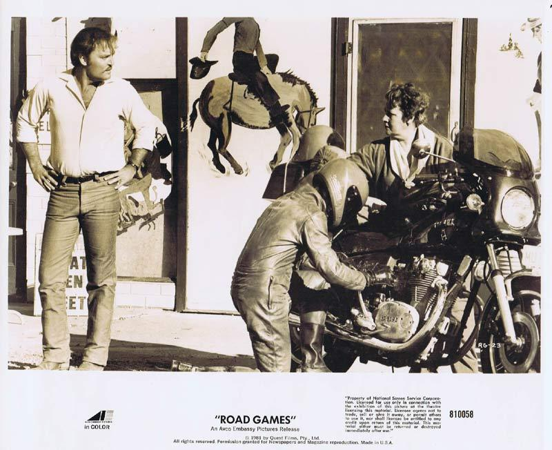 ROAD GAMES Original Movie Still 16 Jamie Lee Curtis Richard Franklin