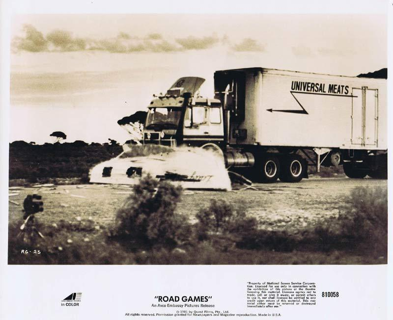ROAD GAMES Original Movie Still 18 Jamie Lee Curtis Richard Franklin