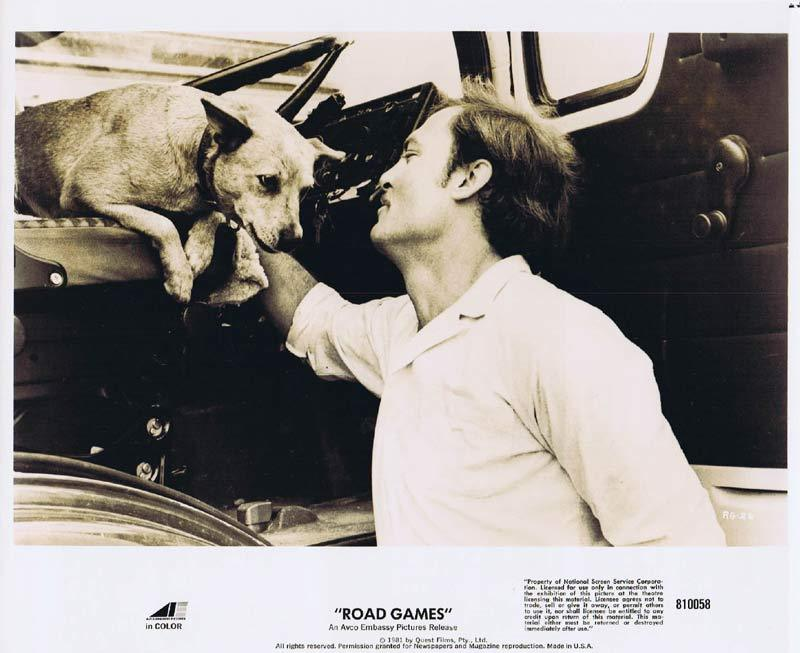 ROAD GAMES Original Movie Still 19 Jamie Lee Curtis Richard Franklin