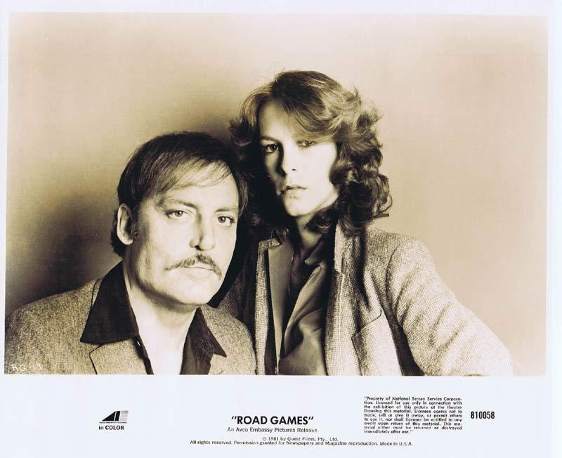 ROAD GAMES Original Movie Still 2 Jamie Lee Curtis Richard Franklin