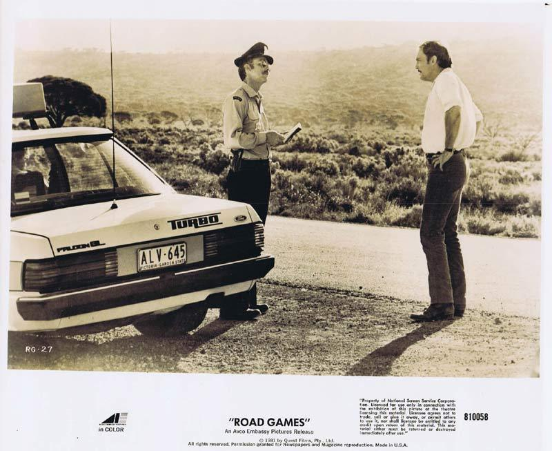 ROAD GAMES Original Movie Still 20 Jamie Lee Curtis Richard Franklin