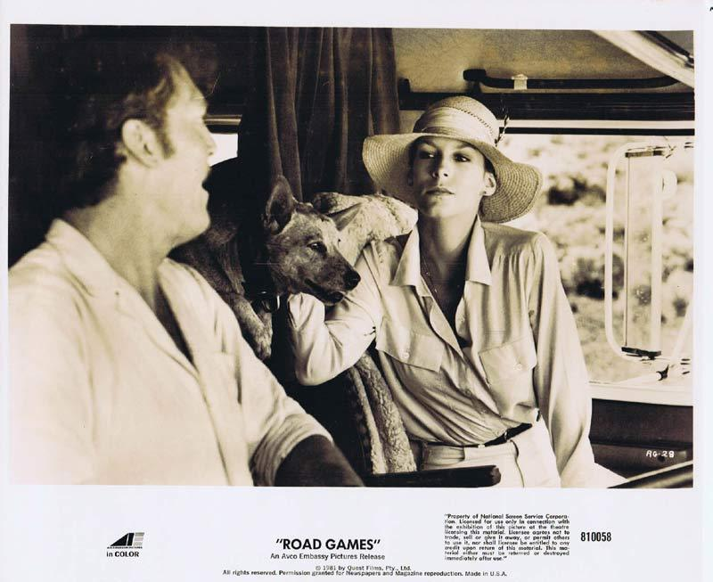 ROAD GAMES Original Movie Still 21 Jamie Lee Curtis Richard Franklin