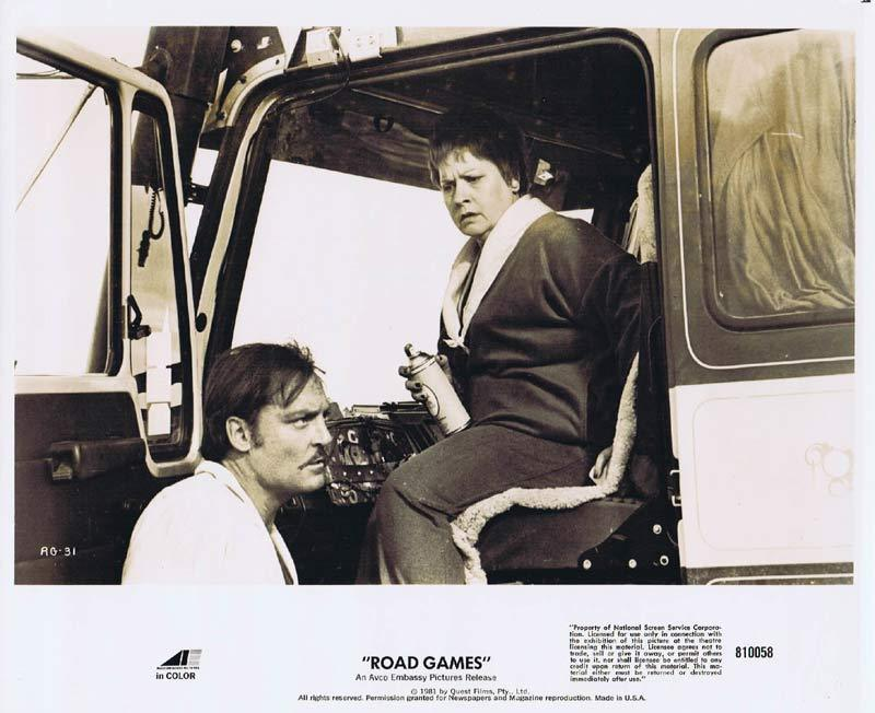ROAD GAMES Original Movie Still 24 Jamie Lee Curtis Richard Franklin