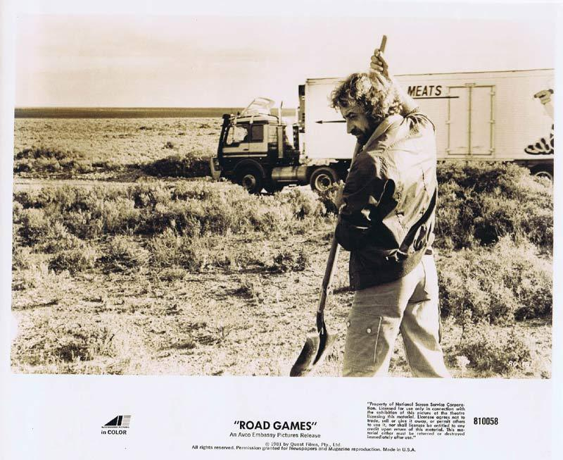 ROAD GAMES Original Movie Still 4 Jamie Lee Curtis Richard Franklin