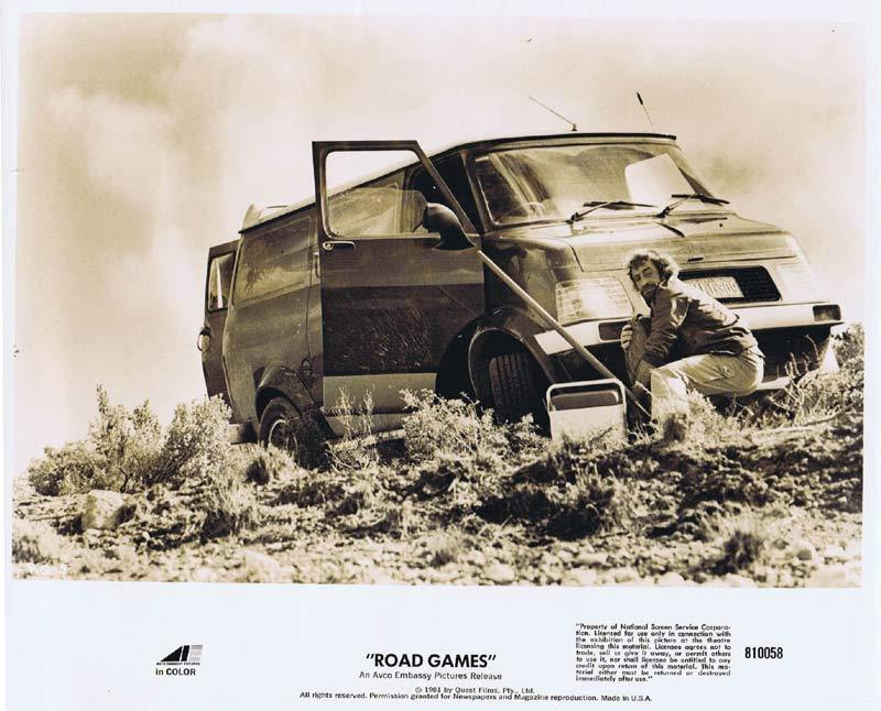ROAD GAMES Original Movie Still 7 Jamie Lee Curtis Richard Franklin