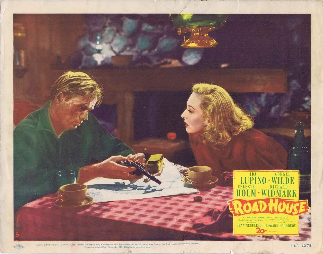 ROAD HOUSE Lobby Card Richard Widmark Ida Lupino Cornel Wilde