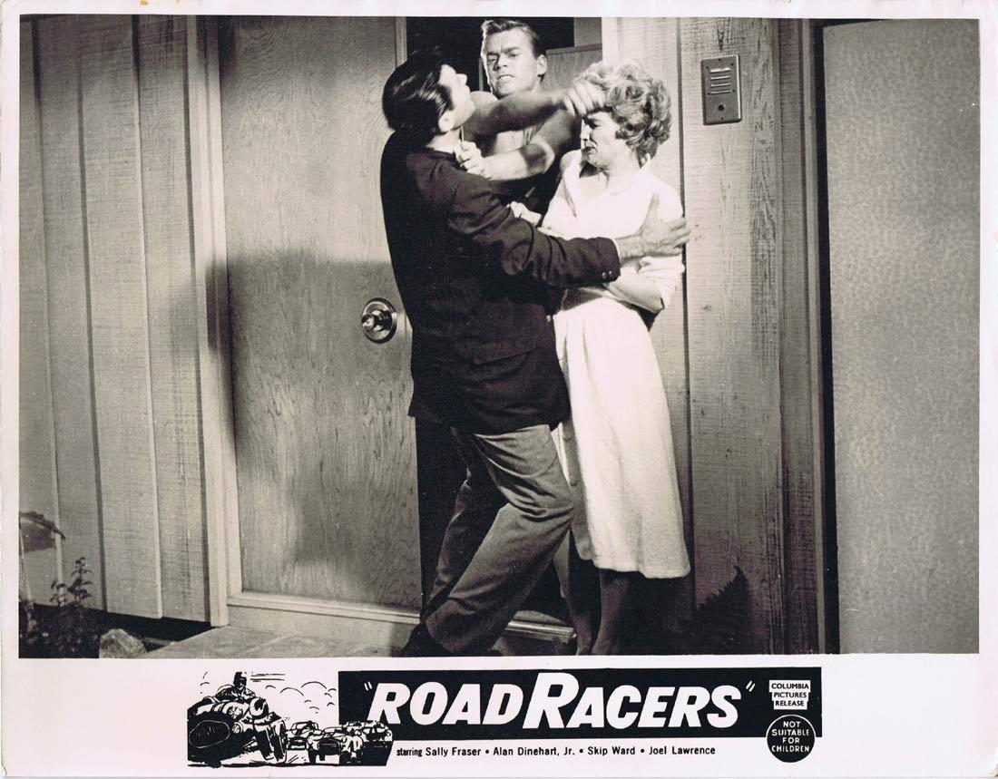 ROADRACERS Original Lobby Card Joel Lawrence Sally Fraser Skip Ward