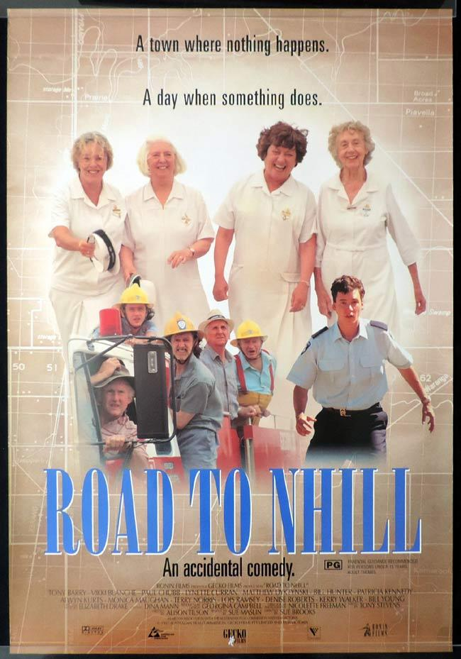 ROAD TO NHILL Rolled Australian One sheet Movie poster Paul Chubb Vikki Blanche