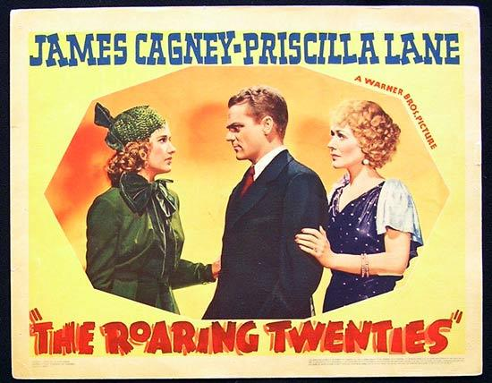 ROARING TWENTIES, The '39 James Cagney ORIGINAL Lobby card