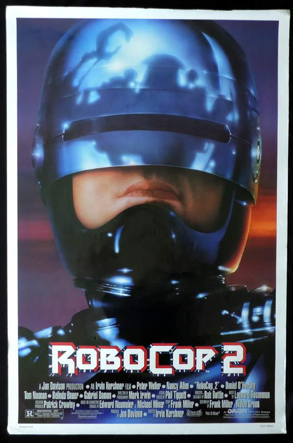 ROBOCOP 2 One Sheet Movie Poster Peter Weller