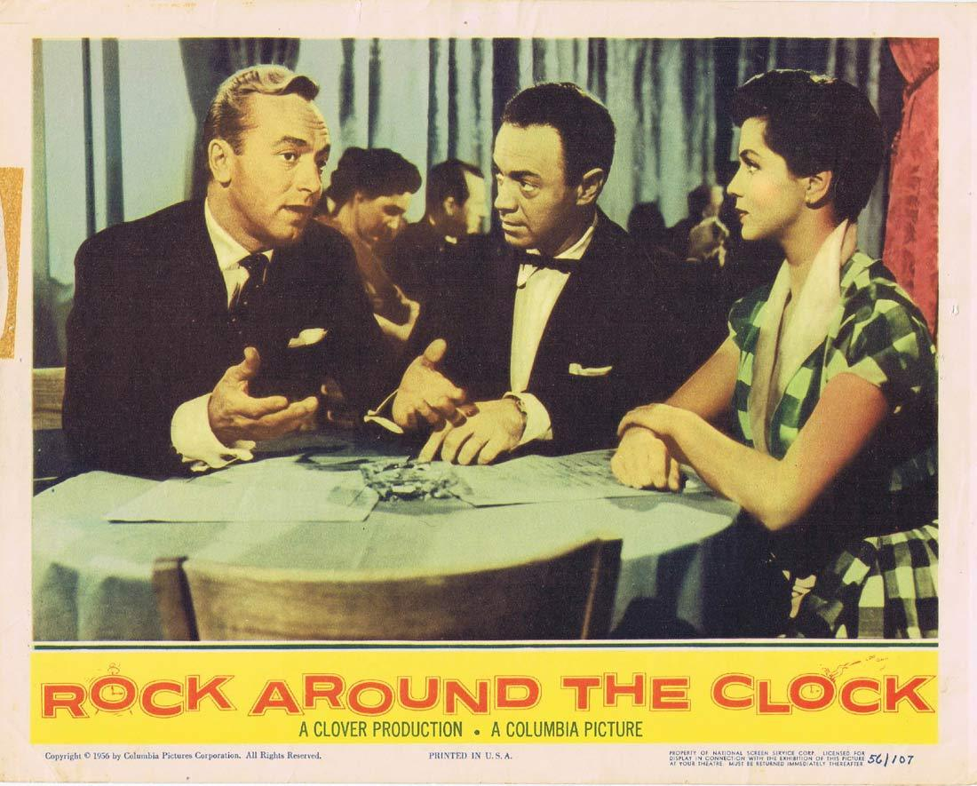 ROCK AROUND THE CLOCK Original Lobby Card Bill Haley and the Comets