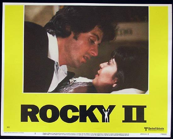 ROCKY II 1979 Sylvester Stallone BOXING Lobby card 2