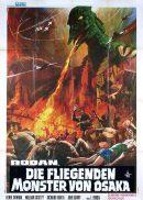 RODAN Original Italian Movie Poster Toho Science Fiction pterosaurs