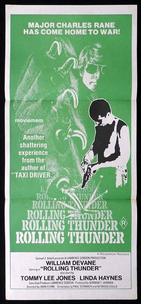 ROLLING THUNDER Original Daybill Movie Poster William Devane Tommy Lee Jones