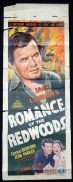ROMANCE OF THE REDWOODS Long Daybill Movie poster 1939 Charles Bickford