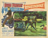 ROUSTABOUT Vintage Lobby Card 3 Elvis Presley Motorcycle Biker