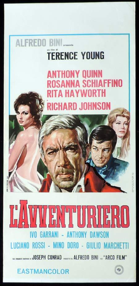 THE ROVER Italian Locandina Movie Poster Anthony Quinn