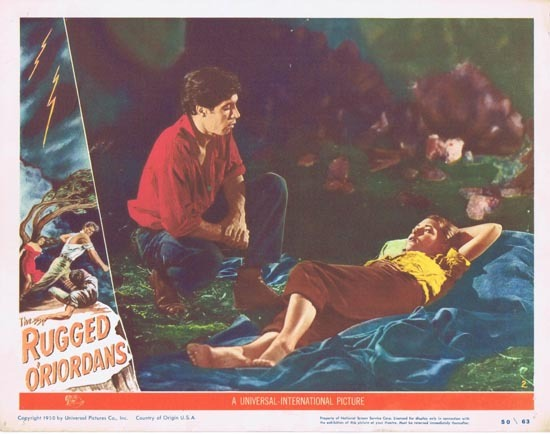 SONS OF MATTHEW aka THE RUGGED O'RIORDANS US Lobby Card 2 1949 Charles Chauvel