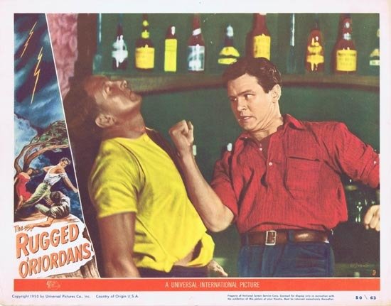 SONS OF MATTHEW aka THE RUGGED O'RIORDANS US Lobby Card 3 1949 Tommy Burns Charles Chauvel
