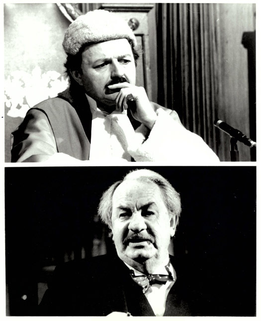 RUMPOLE OF THE BAILEY Leo McKern Peter Bowles ORIGINAL PBS Movie Still Photo 9