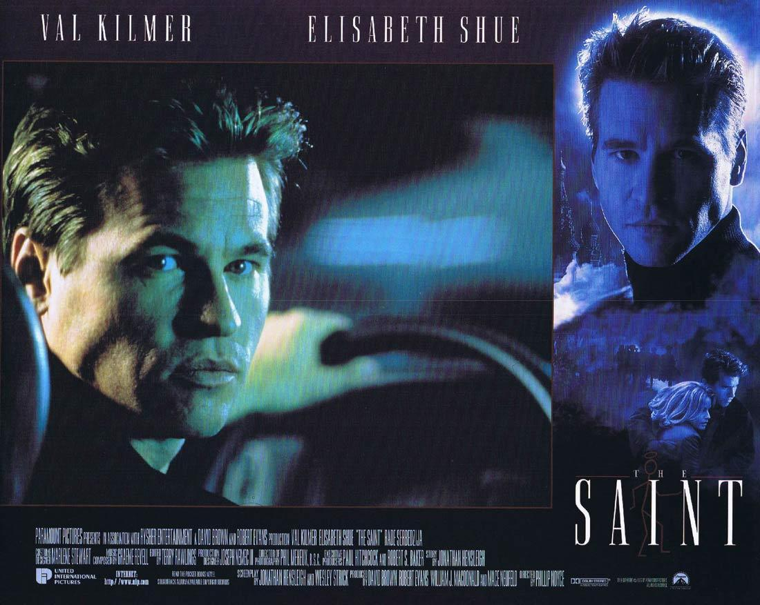 THE SAINT Lobby Card 2 Val Kilmer Elisabeth Shue