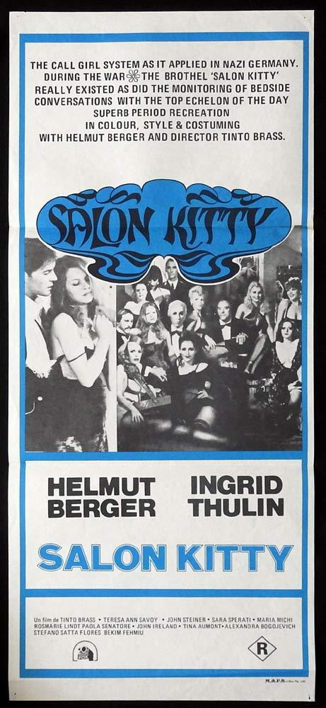 SALON KITTY Original Daybill Movie Poster Helmut Berger Ingrid Thulin