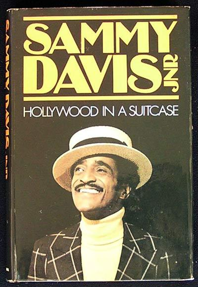 SAMMY DAVIS Jnr '80 Hollywood in a Suitcase HB First Edition Book with DJ