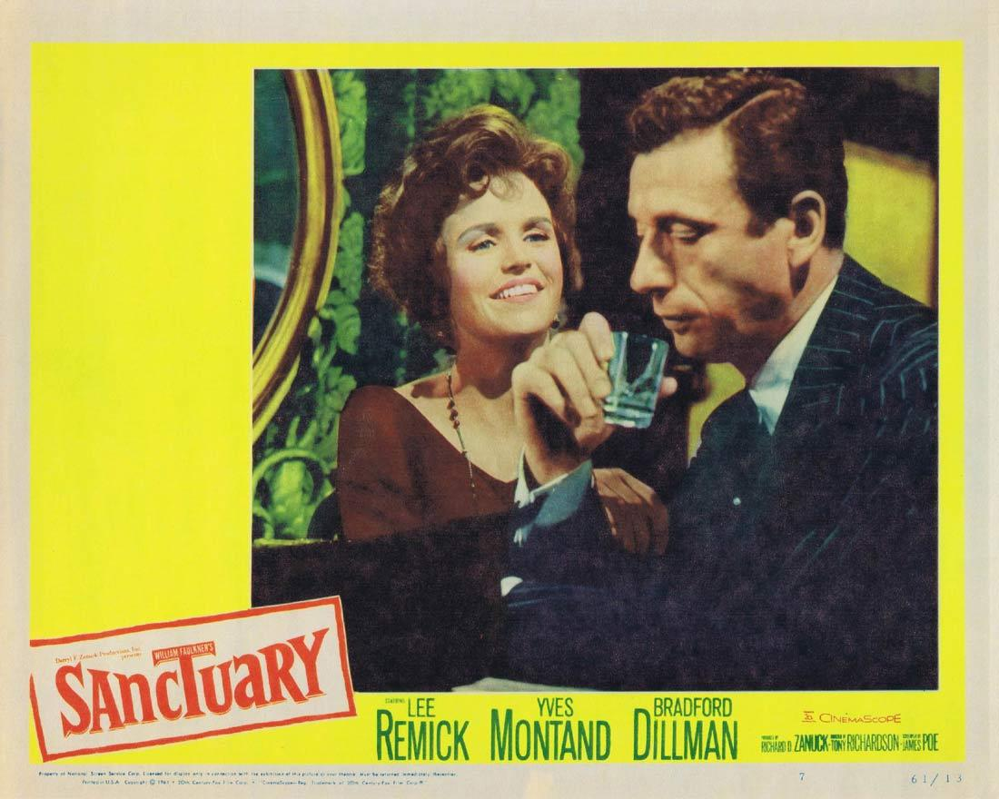 SANCTUARY Lobby Card 7 Lee Remick Yves Montand