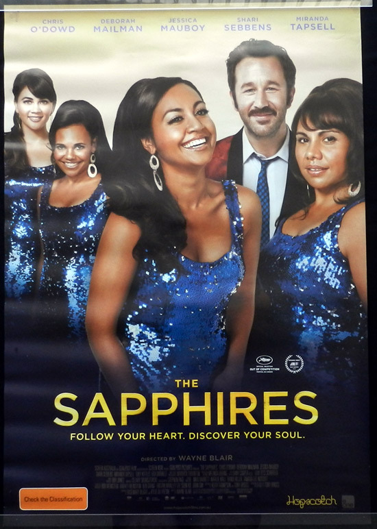 THE SAPPHIRES Original Movie poster Jessica Mauboy Australian Cinema