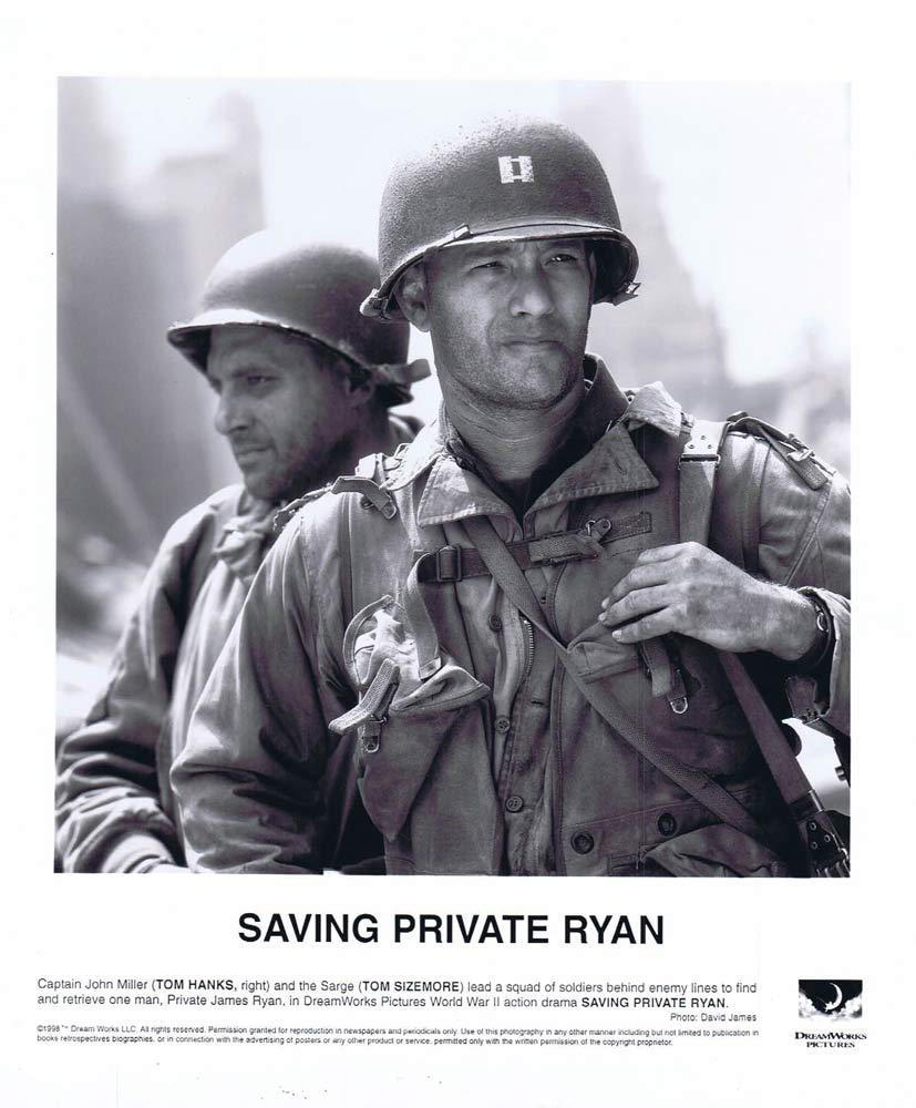 SAVING PRIVATE RYAN Original Movie Still Tom Hanks