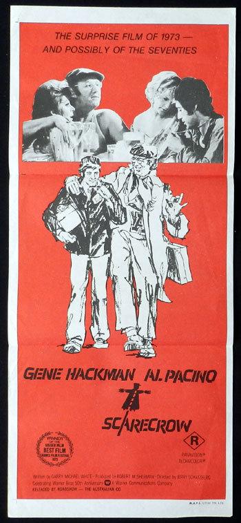 Scarecrow Al Pacino vintage movie poster print