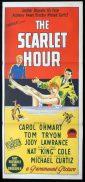 THE SCARLET HOUR Original Daybill Movie Poster MICHAEL CURTIZ Nat King Cole Richardson Studio