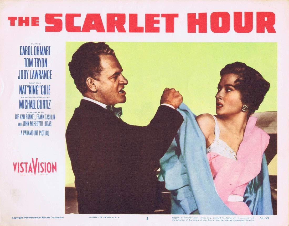 THE SCARLET HOUR Lobby Card 2 Michael Curtiz Film Noir