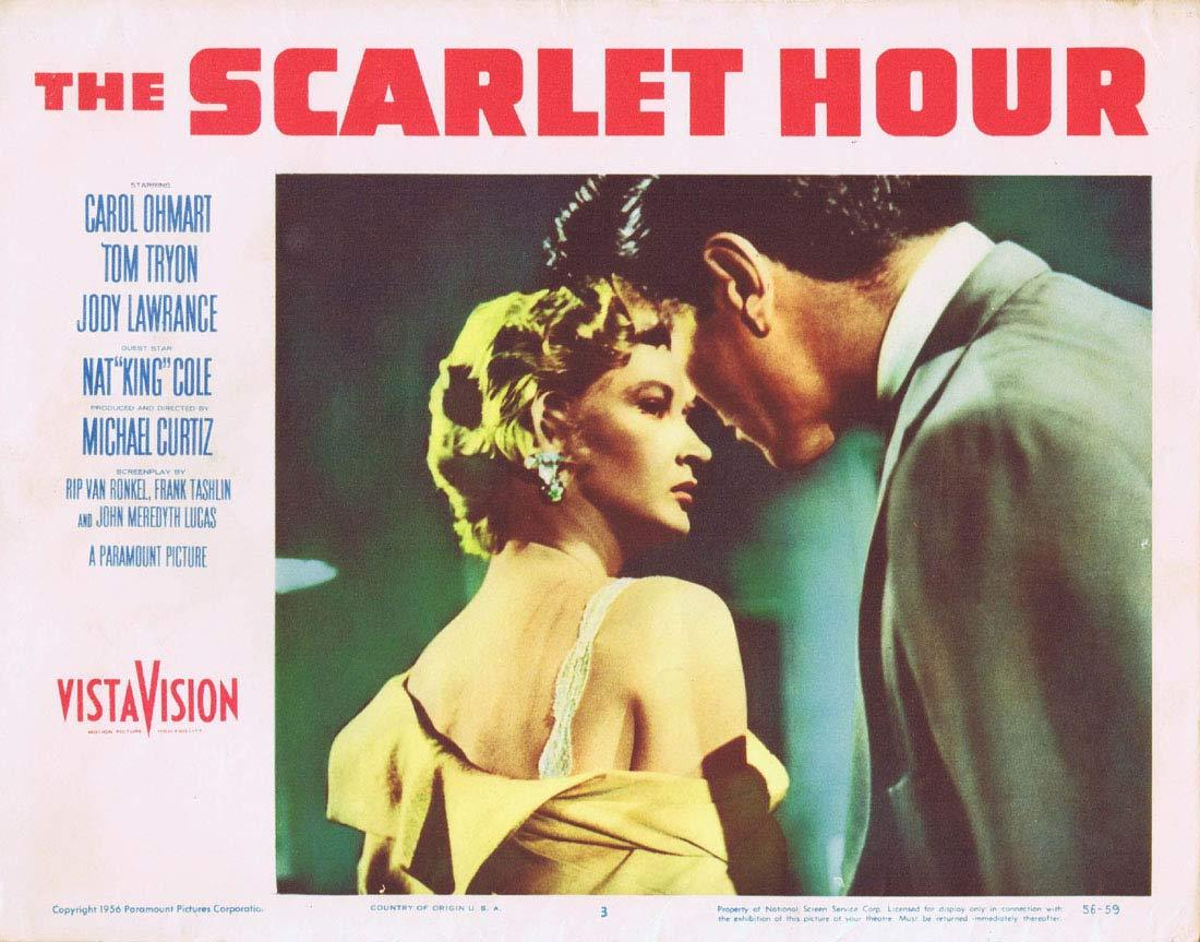 THE SCARLET HOUR Lobby Card 3 Michael Curtiz Film Noir