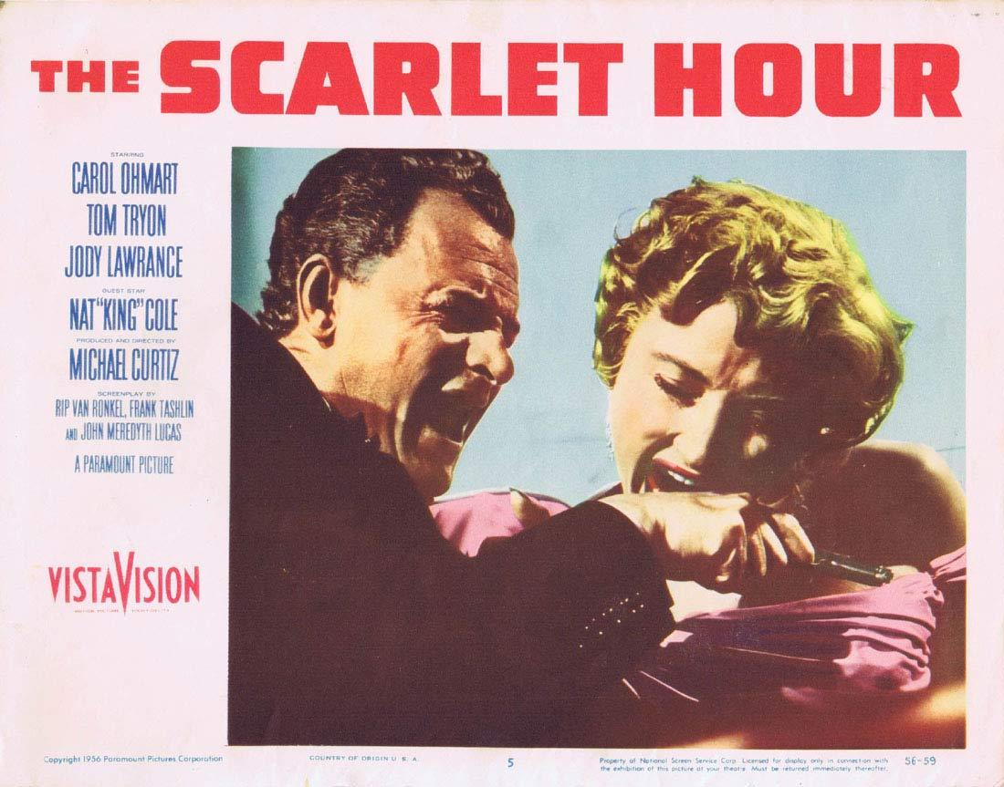 THE SCARLET HOUR Lobby Card 5 Michael Curtiz Film Noir
