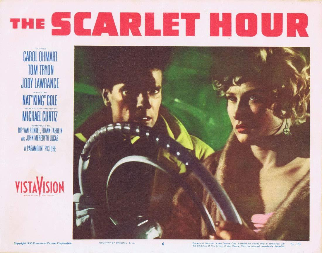 THE SCARLET HOUR Lobby Card 6 Michael Curtiz Film Noir