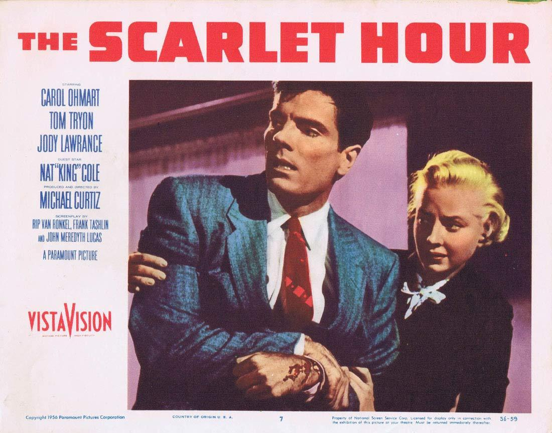 THE SCARLET HOUR Lobby Card 7 Michael Curtiz Film Noir