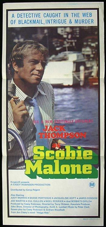 SCOBIE MALONE 1975 Jack Thompson ORIGINAL Daybill Movie poster