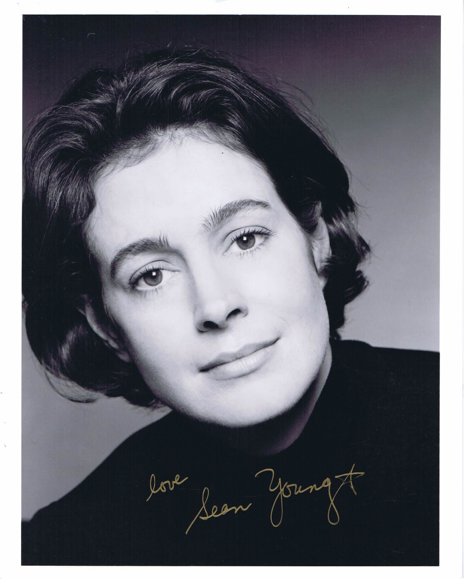 SEAN YOUNG Autograph 8 x 10 Photo