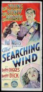 THE SEARCHING WIND Original Daybill Movie Poster ROBERT YOUNG Sylvia Sidney Richardson Studio