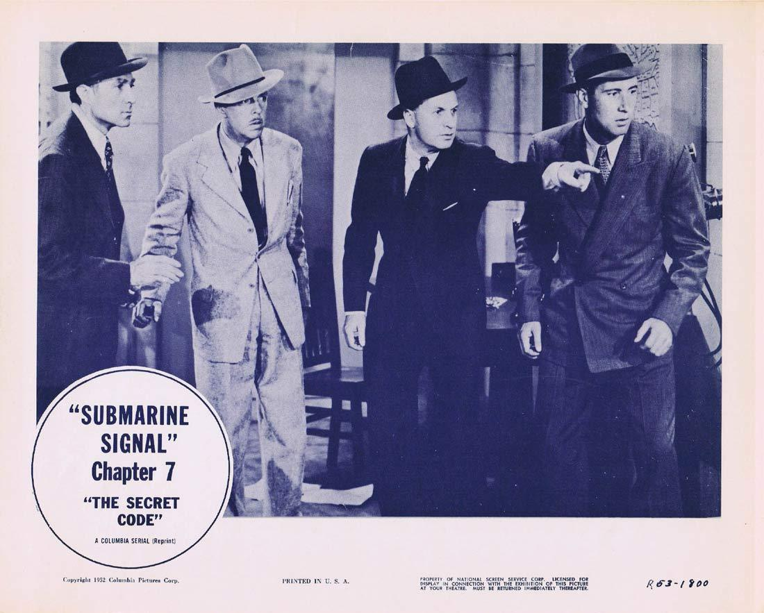 THE SECRET CODE Original Lobby Card 5 Chapter 7 Columbia Serial 1953r