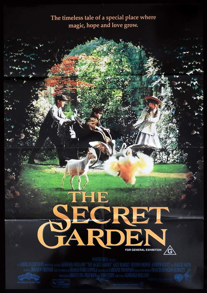 THE SECRET GARDEN Original One sheet Movie poster daybill Movie poster Kate Maberly  Maggie Smith