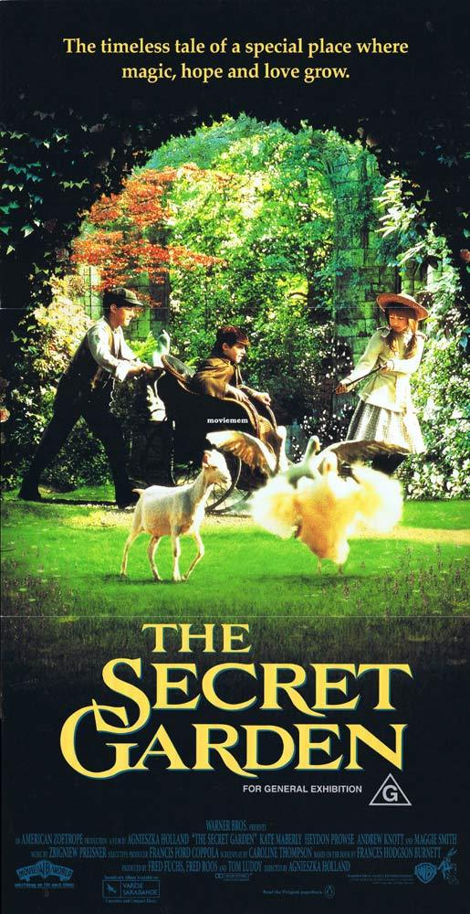 THE SECRET GARDEN Original Daybill Movie poster daybill Movie poster Kate Maberly  Maggie Smith
